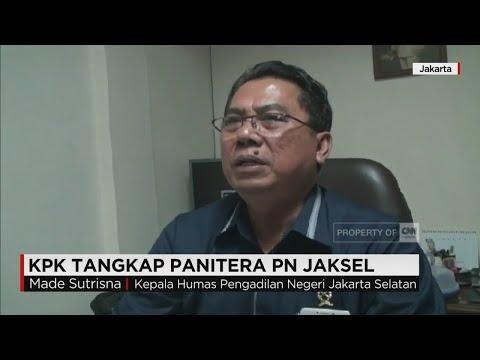 KPK Tangkap Panitera PN Jakarta Selatan
