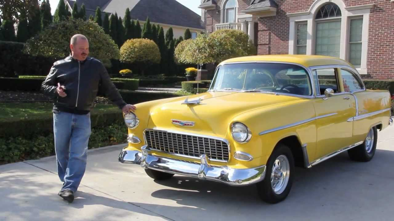 1955 chevy truck car clubs autos post - 1955 Chevy Bel Air Classic Muscle Car For Sale In Mi Vanguard Motor Sales Youtube