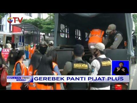 Gerebek Panti Pijat Plus, Puluhan Pasangan Mesum di Kawasan Banten Diamankan Petugas - BIS 24/10