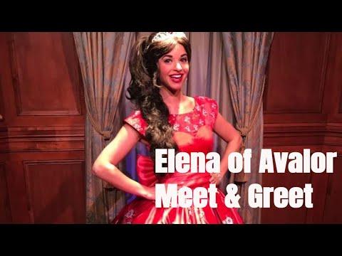 Elena of Avalor - Disney Junior Character Meet and Greet at the Magic Kingdom