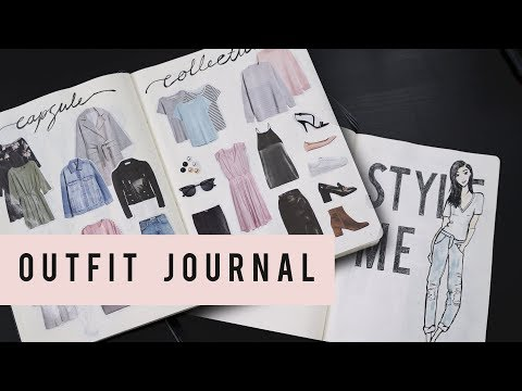 BULLET JOURNAL IDEAS - OUTFIT PLANNING  | ANN LE