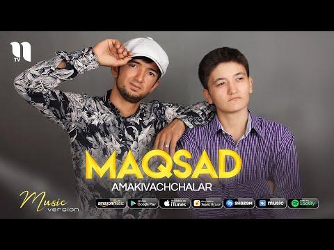 Amakivachchalar - Maqsad