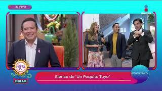 ¡Marjorie de Sousa y Jorge Salinas son parte del elenco de Un Poquito Tuyo | Sale el Sol