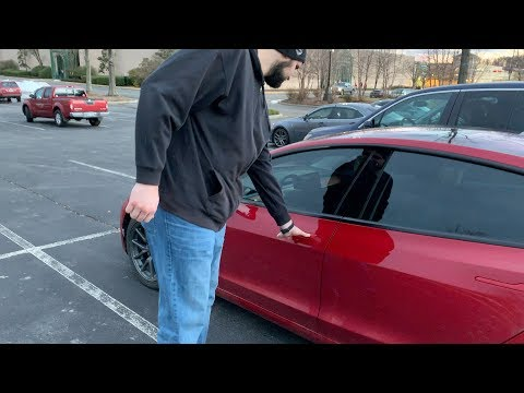 72 tall driver in a Tesla Model 3? No Problem!