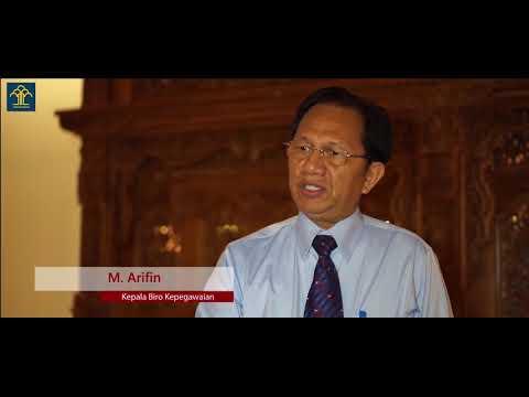 Pesan Kepala Biro Kepegawaian untuk para Calon Taruna/i POLTEKIP dan POLTEKIM Tahun 2018