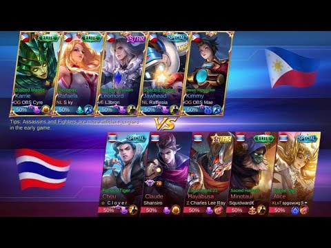 Philippines vs Thailand National Arena Game 2 Mobile Legends