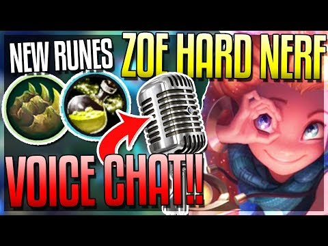 VOICE CHAT IS HERE!! NEW RUNES & ZOE HUGE NERF! - New 8.4 Changes - League of Legends thumbnail