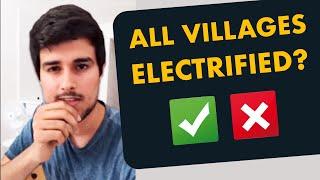 100% Village Electrification: Is it true?   Dhruv Rathee Facebook Live