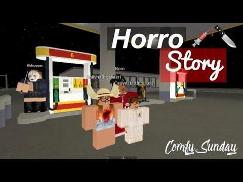 Roblox  Movie Night Horror Story
