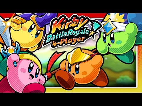 KIRBY BATTLE ROYALE! (4 Player)