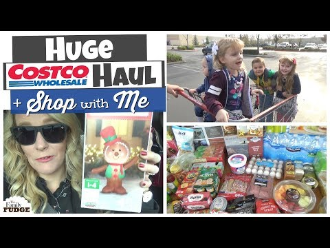 Huge COSTCO + Walmart + Trader Joe's HAUL & Shop with Me!
