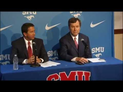 SMU announces June Jones resignation