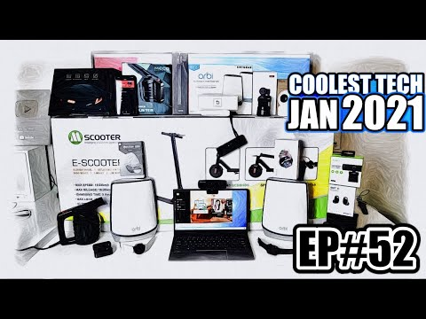 Coolest Tech of the Month January 2021  – EP#52 – Latest Gadgets You Must See!