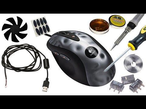 Мышь живи, ремонт MX518