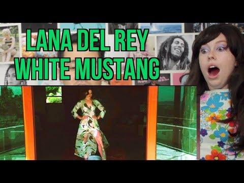 Lana Del Rey - White Mustang - Reaction -  OUTTAKE