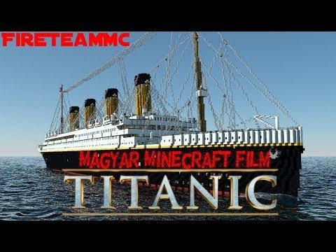 Magyar Minecraft film - Titanic
