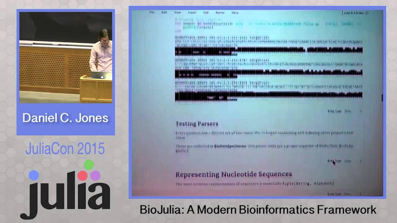 BioJulia Project in 2016