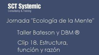 Bateson y DBM Taller Clip 18 (con traducción al castellano)