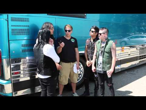 Escape the Fate Interview (UPROAR 2014)