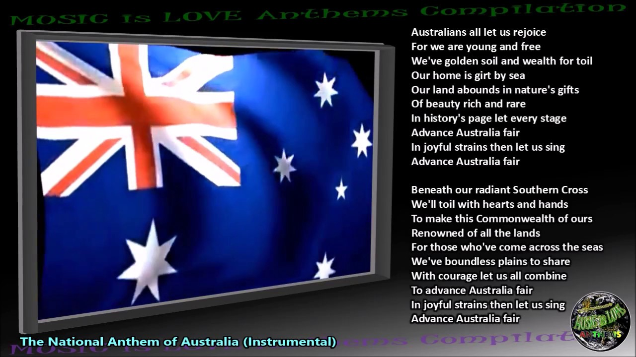 Australian Songs - Music (midi) Lyrics, Photos, Poetry