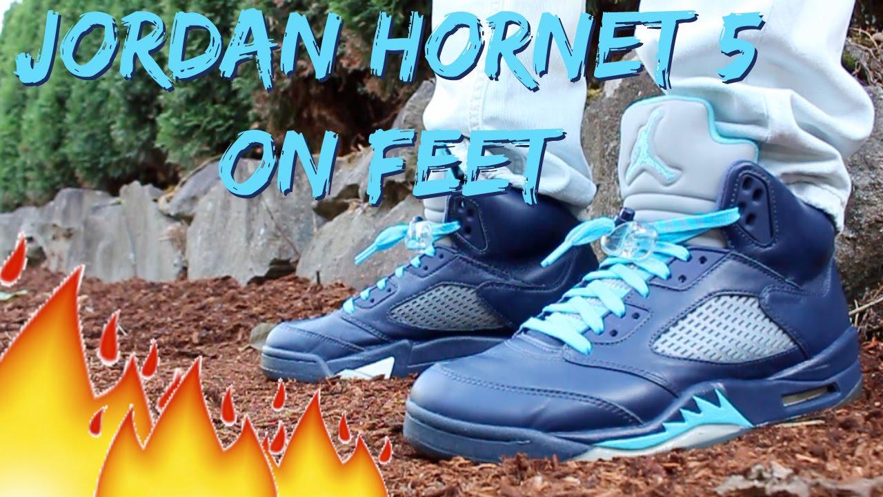 reputable site 4b846 1deca Jordan Hornet 5 On Feet/Detailed Look HD