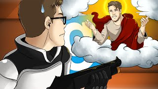 LEAP OF FAITH!! - Garrys Mod Prop Hunt Funny Moments