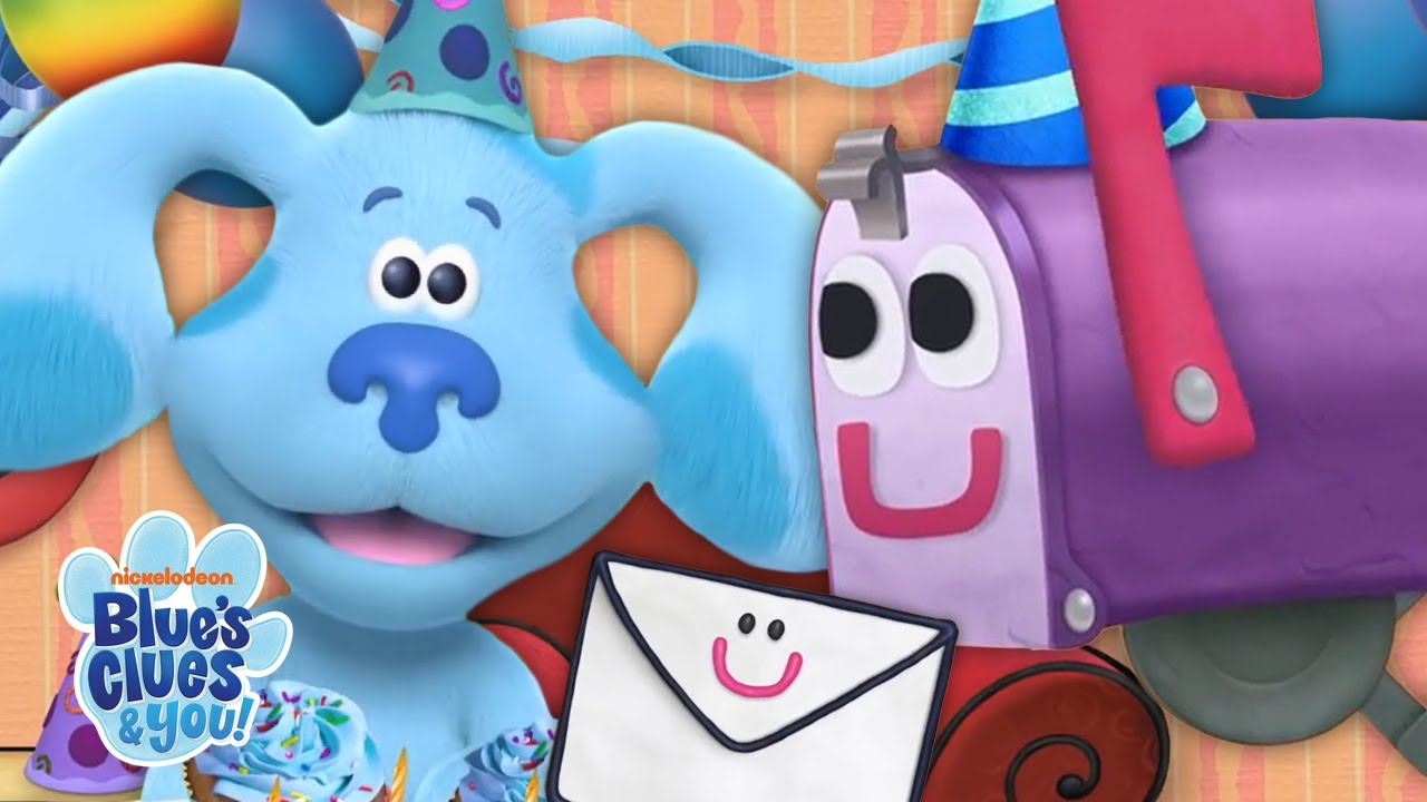 Birthday Mail Time With Blue & Josh 📬!   Blue's Clues & You!