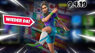 FORTNITE DAILY ITEM SHOP 9.4.19 | OHA FOOTBALL SKINS AGAIN ON THIS!