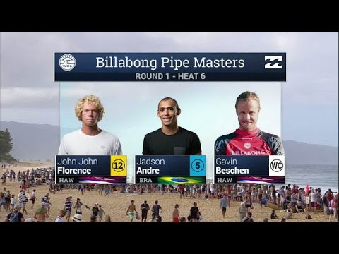 Billabong Pipe Masters: Round One, Heat 6