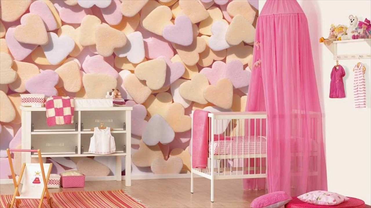 3d wallpaper decoration bedroom kids design - youtube