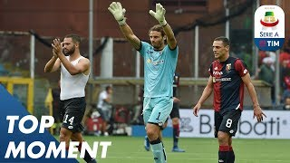 Incredible Save By Marchetti | Genoa 1-0 Bologna | Top Moment | Serie A