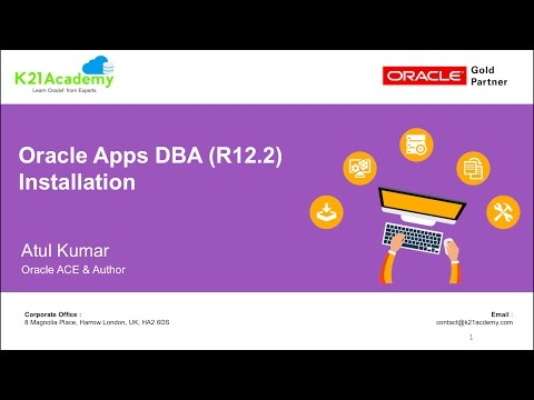Oracle AppsDBA R12.2 Installation for E-Business Suite