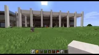 [Minecraft] 고층빌딩 건설중 - 출입문, 보안…