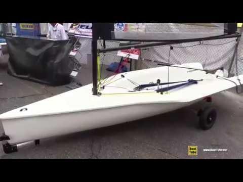 2016 Melges 14 Dinghy - Walkaround - 2015 Annapolis Sail Boat Show
