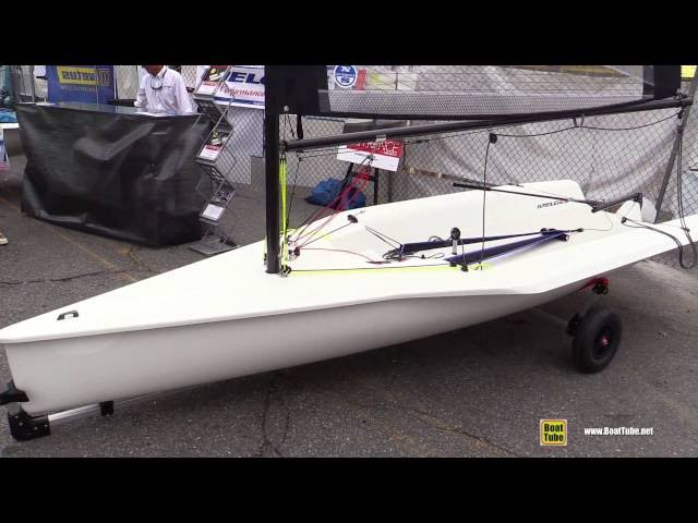 2016 Melges 14 Dinghy - Walkaround - 2015 Annapolis Sail Boat Show