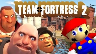 Repeat youtube video If Mario was in...Team Fortress 2