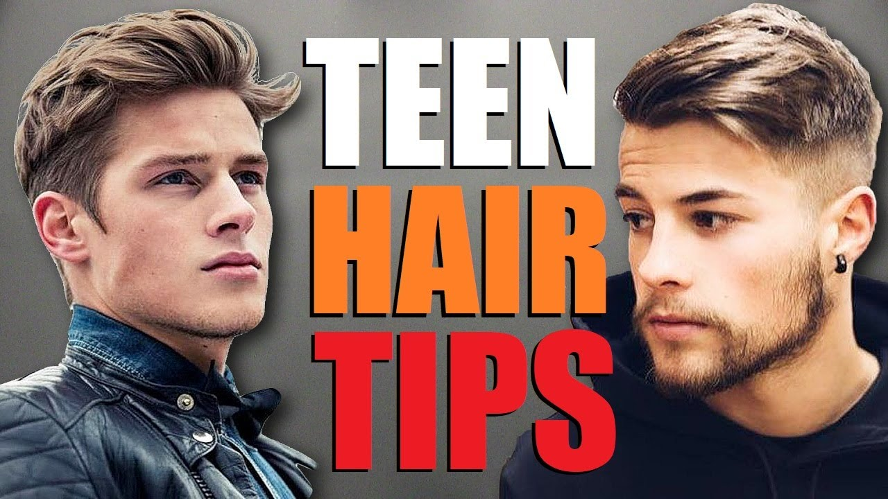 10 BEST Teen Hair Tips For a BETTER Hairstyle! (Young Men\'s Hair Advice)