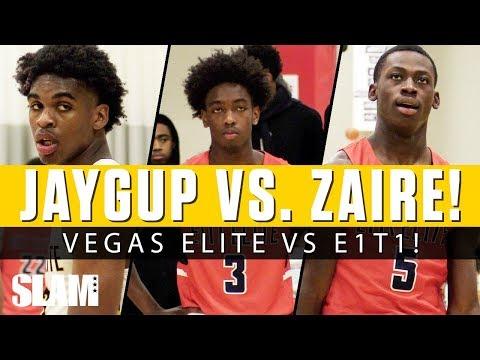Josh Christopher vs. Zaire Wade! 😈 Vegas Elite vs. E1T1 in EYBL Indy!