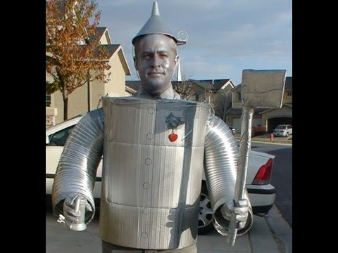 How to make a tin man costume wizard of oz youtube how to make a tin man costume wizard of oz solutioingenieria Choice Image