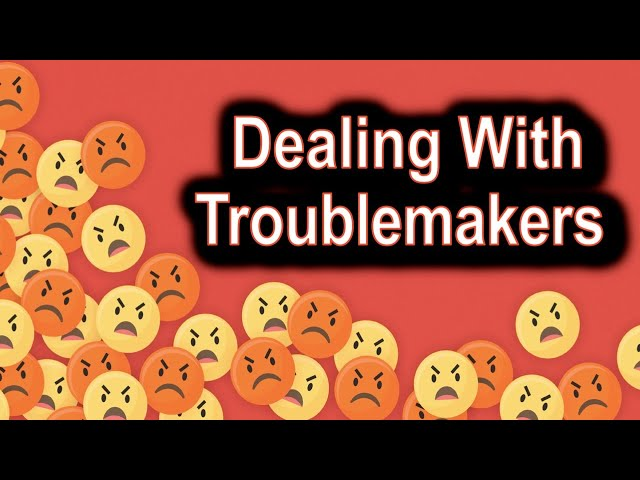 Dealing with Troublemakers, 2 Thessalonians 3:6-18 – July 12th, 2020