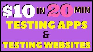 Make Money Testing Apps & Testing Websites** EASYILY** | Userlytics Review