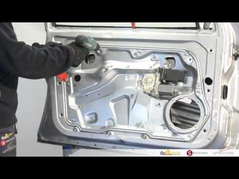How to Fit Window Regulators: VW Golf Mk4 & Bora