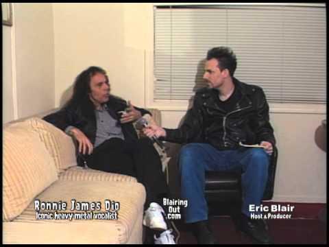 Ronnie James Dio talks w Eric Blair 1997