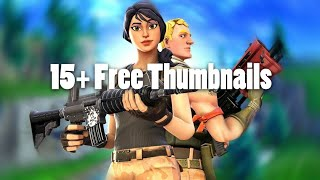 15+ Free Fortnite Thumbnails (SFM) (Fortnite Gfx Pack)