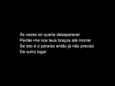 Paraíso - Diogo Piçarra (letra)