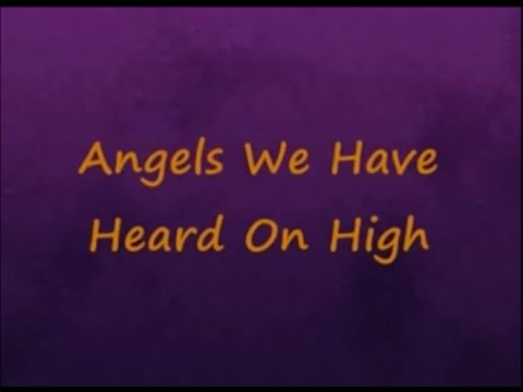 Angels We Have Heard On High with Lyrics -Sixpence None The Richer
