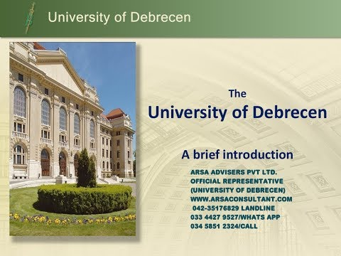 2nd Largest Recruitment firm for University of Debrecen-Hungry-Europe, Apply without Ielts