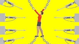 КАК У МЕНЯ ПОЛУЧИЛОСЬ ВЫБРАТЬСЯ ОТСЮДА И ВЫЖИТЬ? 100% СЛОЖНАЯ ЛОВУШКА В ХЭППИ ВИЛС (Happy Wheels)