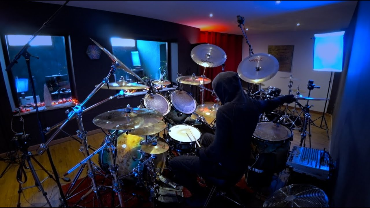 #240 Faith No More - Digging The Grave - Drum Cover