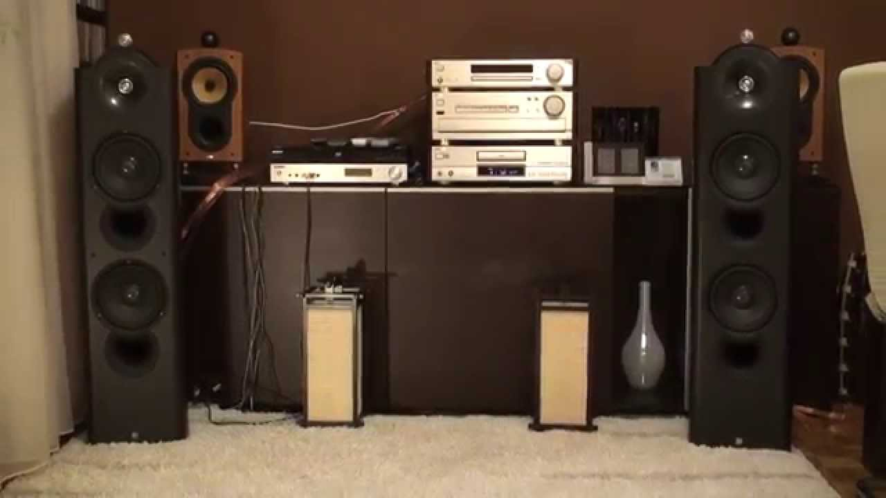 Kef Reference 205 - YouTube